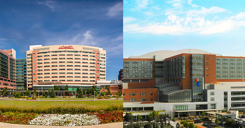 UCHealth and Childrens hospital