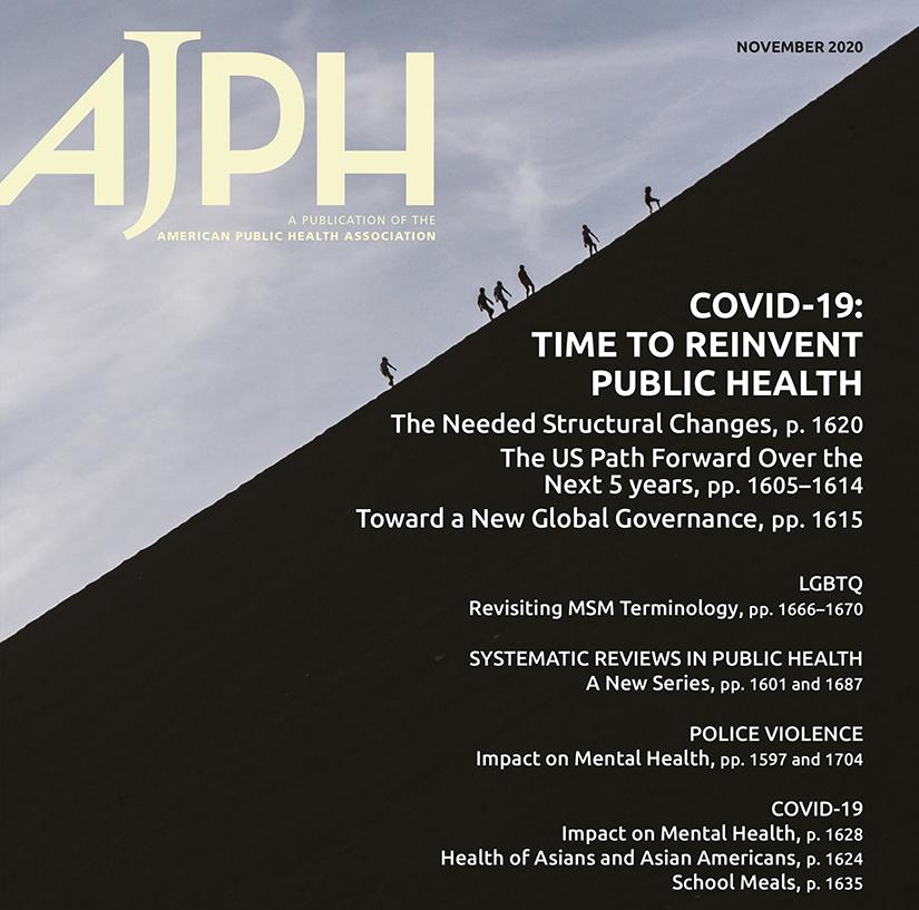 AJPH Nov 2020 cover