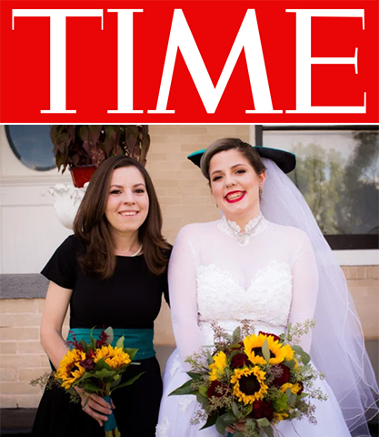 Sara Wittner (left) and her sister Grace Sekera on Sekera's wedding day. Wittner began using narcotics again after the COVID-19 pandemic dismantled elements of her sobriety support system.