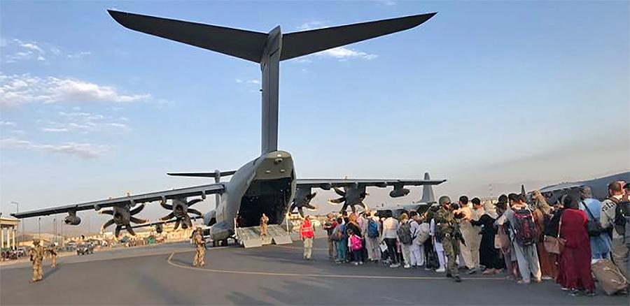 WSJ transport plane