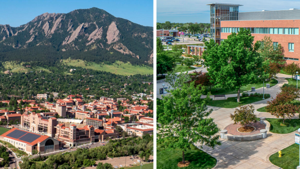 Anschutz and Boulder
