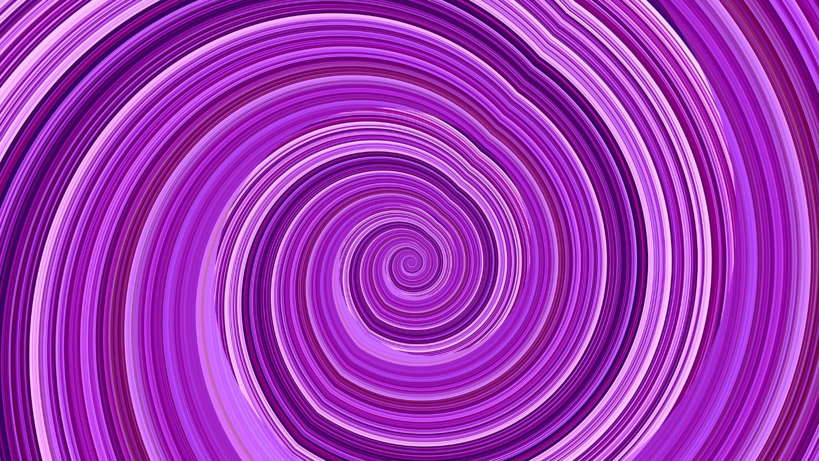 Swirls of pink and purple