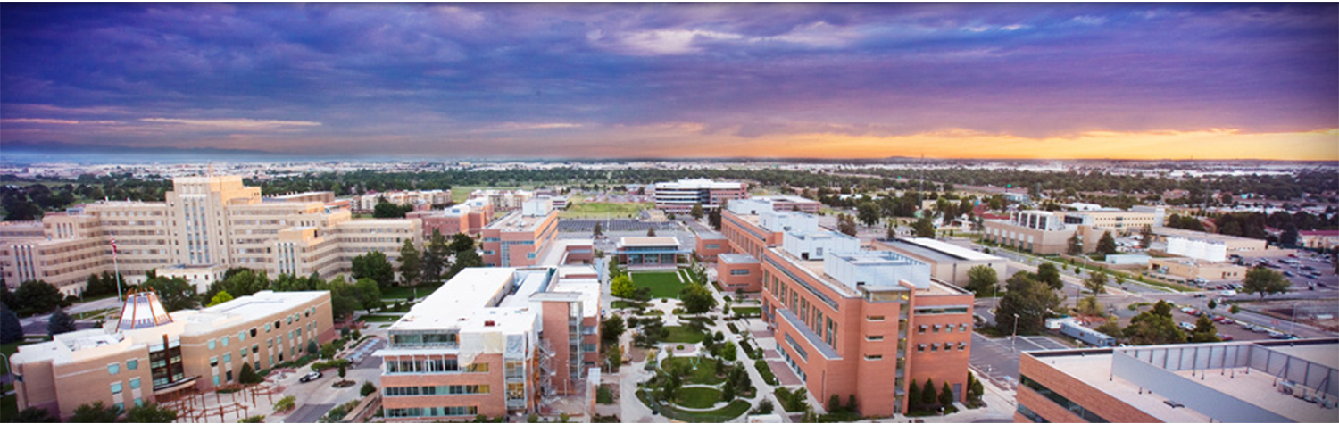 Sunset over Anschutz Medical Campus