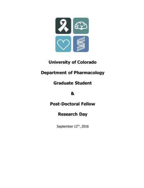 2016 Pharmacology Symposium